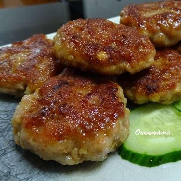 香煎鹹魚肉餅