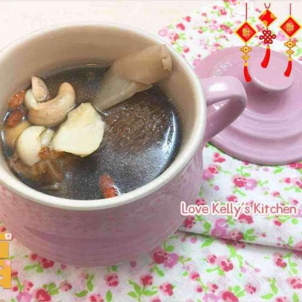 猴頭菇百合淮山杞子素湯