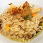 Chef Bob's GFCF Risotto featuring Chanterelle Mushrooms