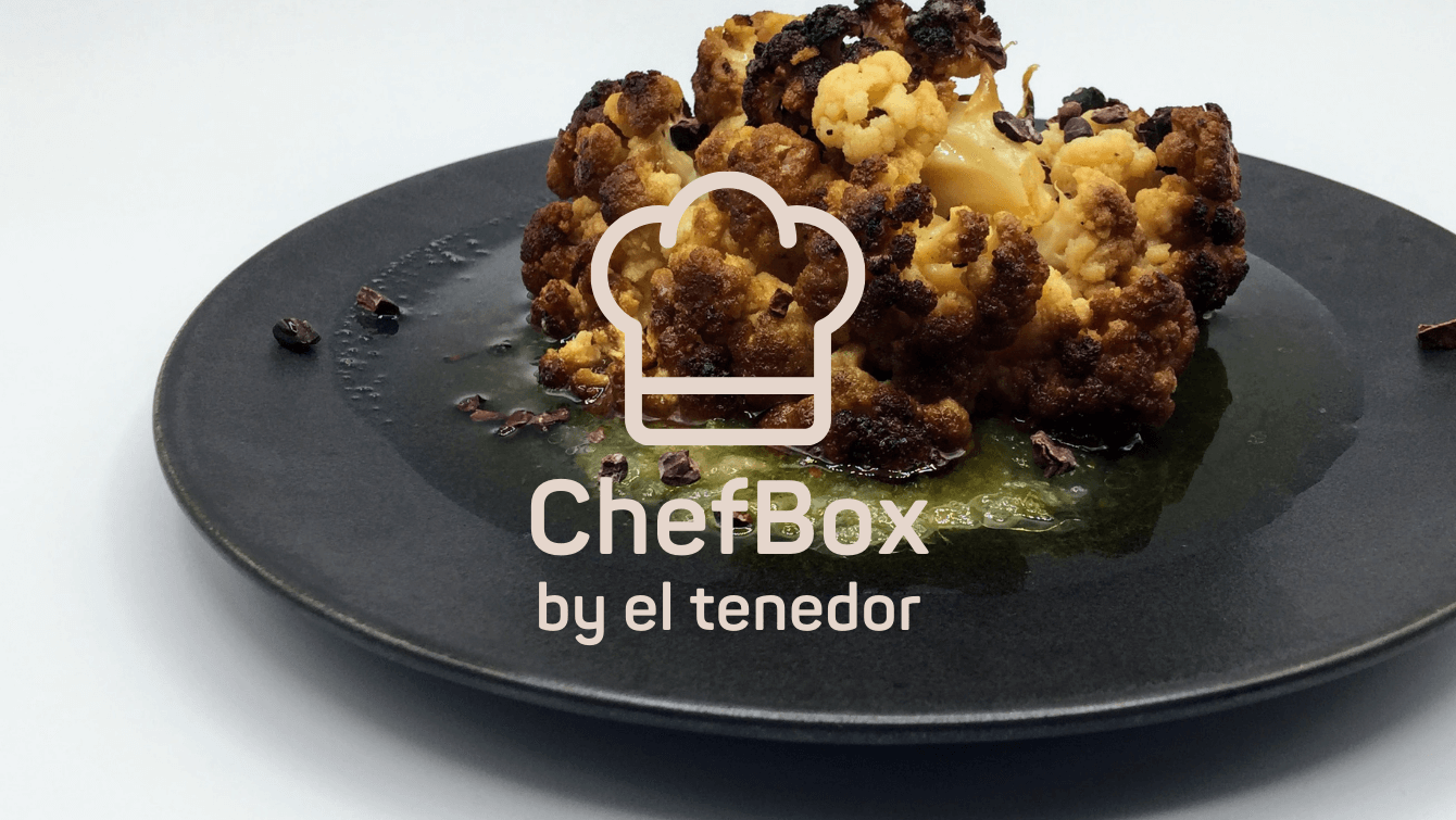 Butter poached and pineapple truffle cauliflower.