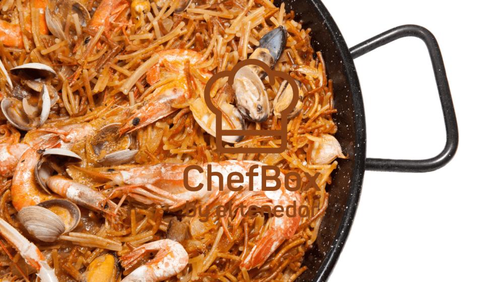 spaniard seafood pasta.