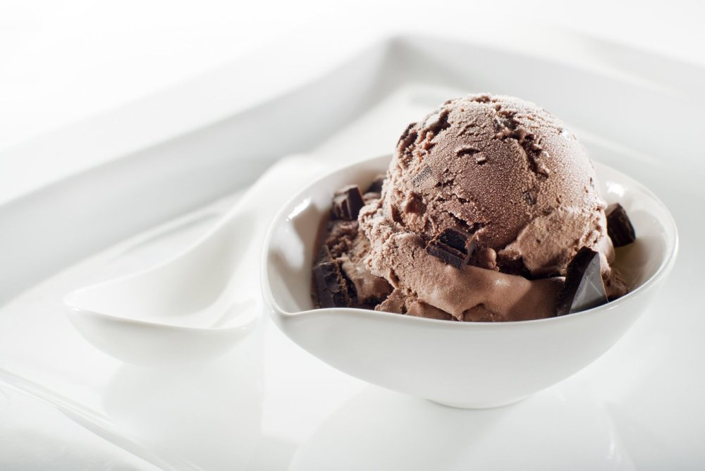 Helado de té negro - Chefbusiness.co