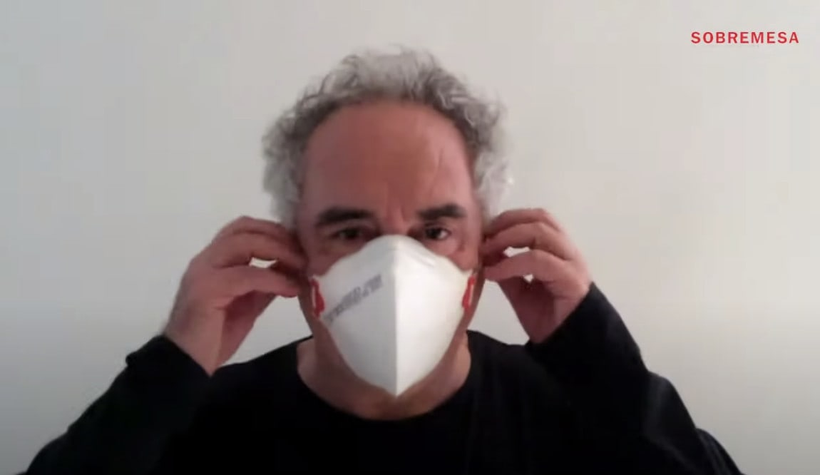 Captura de Video Campaña Daremos La Cara, Chef Ferrán Adrià - ElBulli Fundation