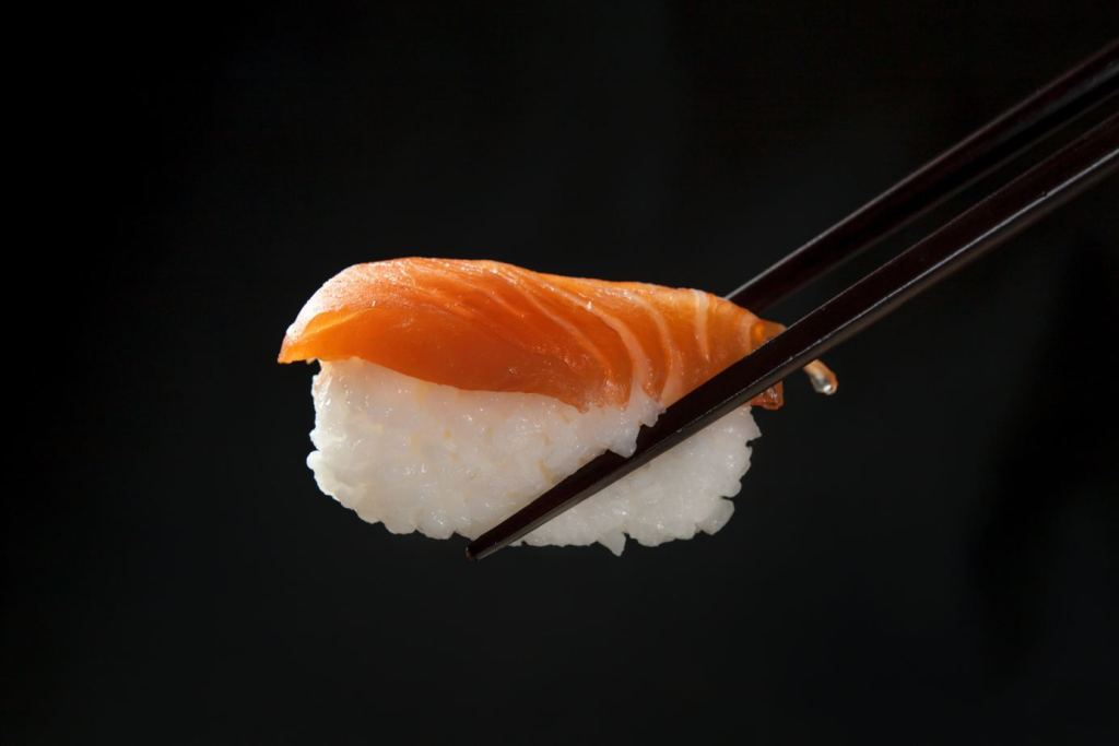 sushi on focus photography