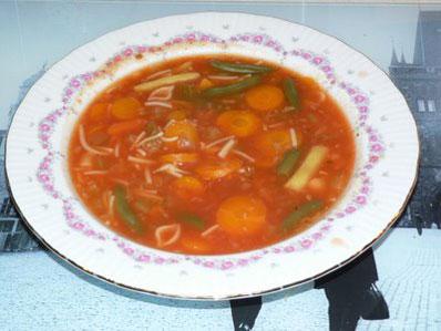 Recette de soupe aux lgumes toute simple et rconfortante