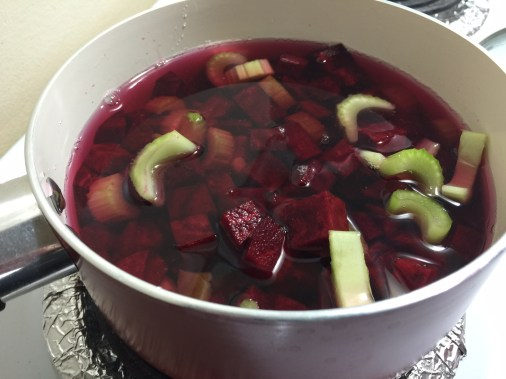 veggies for pink lentil and pumpkin soup