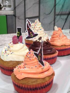 Cup cakes de calabaza