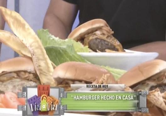 Hamburger hecho en casa