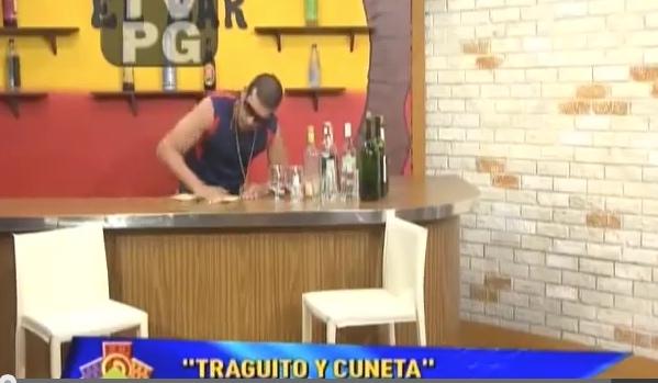 Chef Edgardo Noel en Traguito y Cuneta 01-26-15
