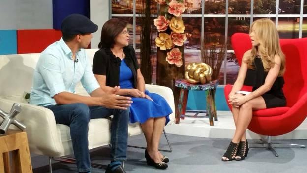 Alexandra entrevista al Chef Edgardo Noel y a su madre Rosa