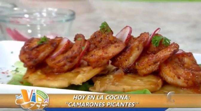 Camarones picantes (VIDEO)