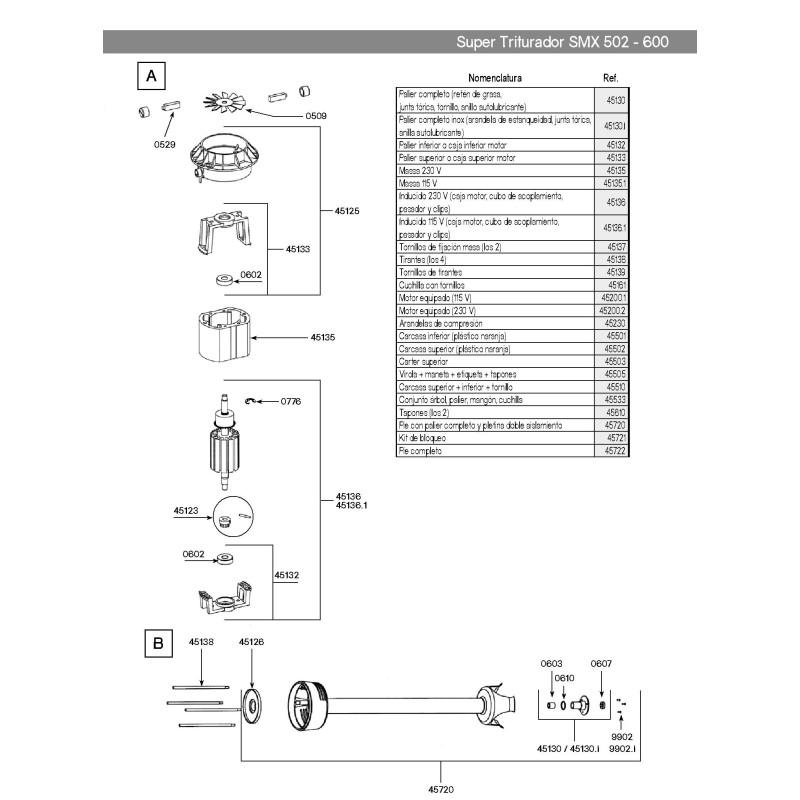 Dynamic bearing tight seal PMX98 92-98 MM X 250 MX91-2000
