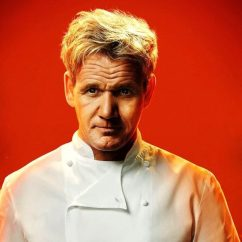 Trash Can Kitchen Painting Cabinets Ideas Chef Gordon Ramsay Hell's Restaurant In Las Vegas
