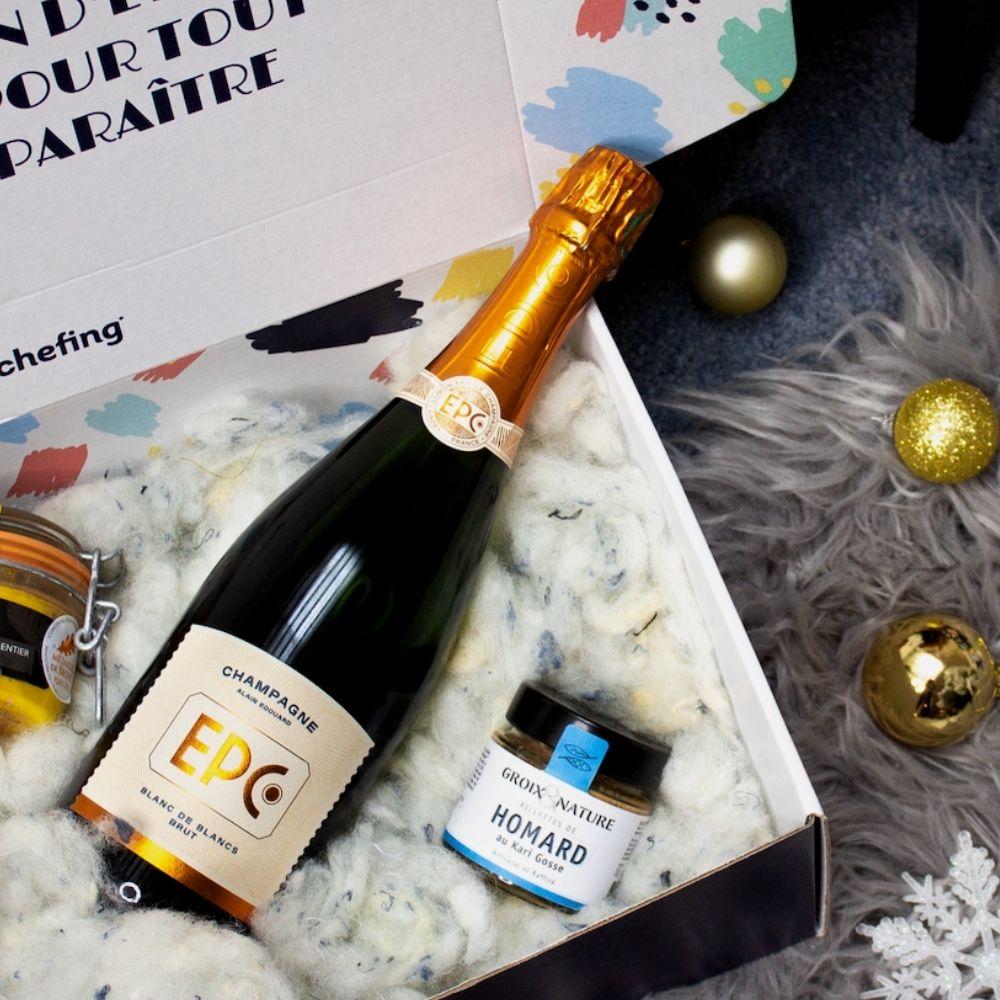 EPC Champagne dans les coffrets engageants