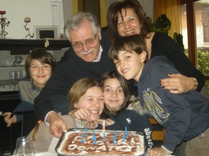 Donato, Valeria e famiglia