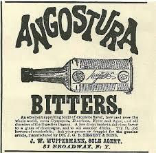 Angostura - Vecchia pubblicità