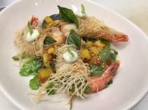9 Floribbean Cuisine- Crispy prawns