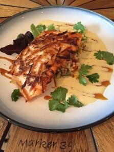 Marker 39 Floribbean Cuisine- Wild Salmon Special