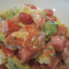 Local lobster salad