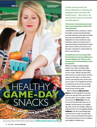 BDA Healthy Game Day Snacks feature