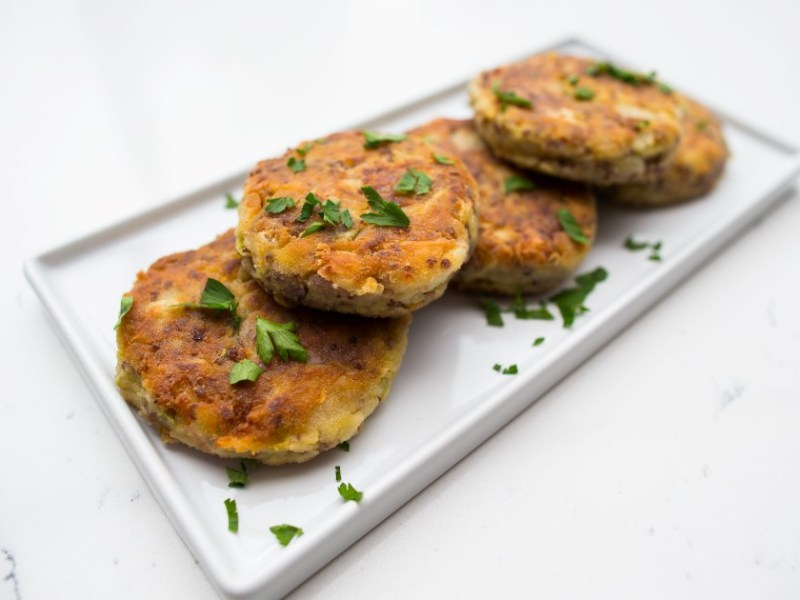 Squash-Veggie-Quinoa Patties