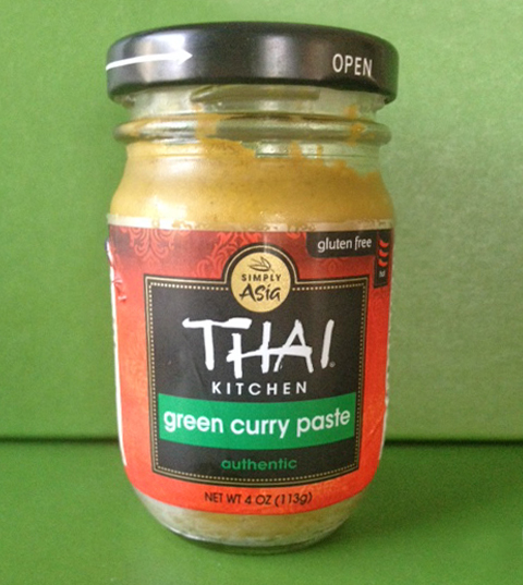 This Weeks Favorite Ingredient Is Green Curry Paste From Thai Kitchen. Curry  Paste Is Used Quite A Bit In Thai Food. It Is A Blend Of Lemongrass,  Ginger, ...