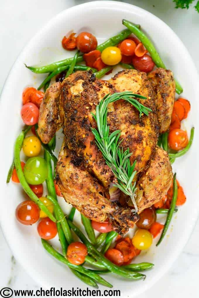 Easy way to roast a whole chicken perfectly
