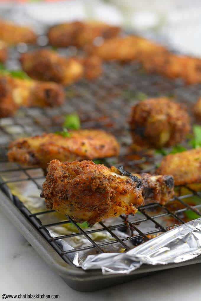 Oven Baked Chicken Wings