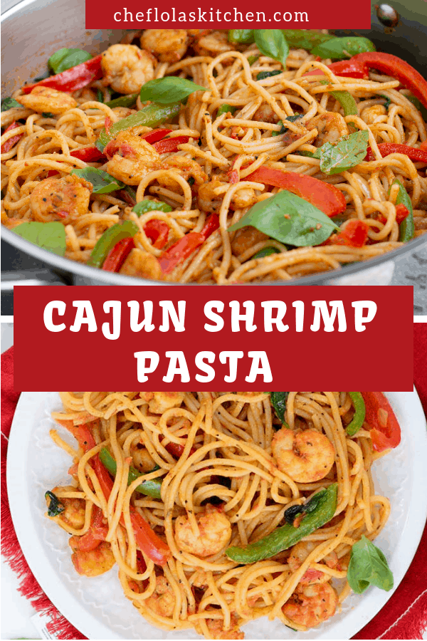 The Cajun shrimp Pasta is a quick, easy, and flavorful stand-alone seafood meal. It's a satisfying comfort seafood pasta at its best.