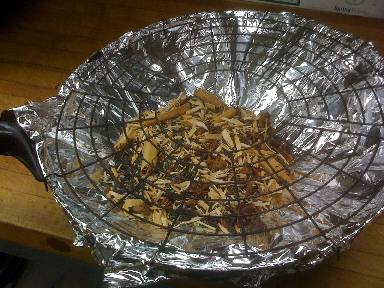 Wok Tea Smoked Chicken  Chef Maxients Blog