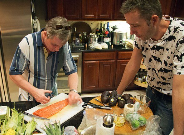 A lesson on removing pin bones from salmon