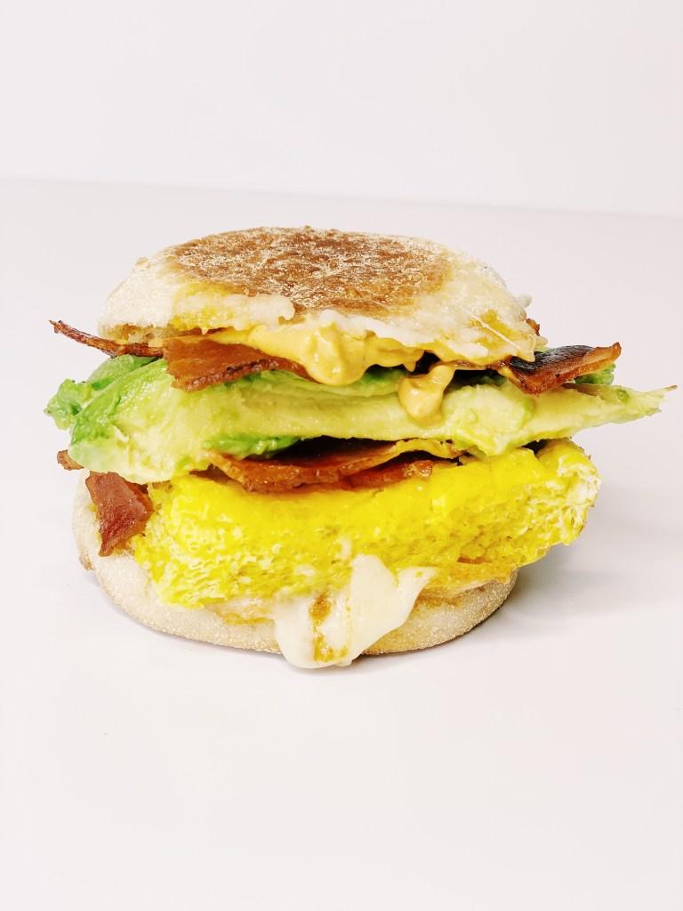 Make-Ahead Egg, Bacon and Cheese Breakfast Sandwich