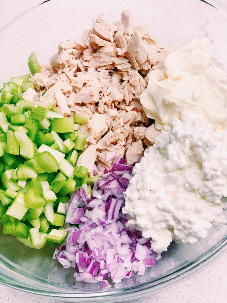 Protein Packed Tuna Salad Sandwich ingredients