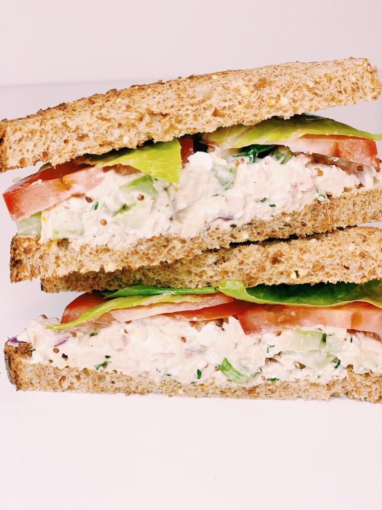 Protein Packed Tuna Salad Sandwich