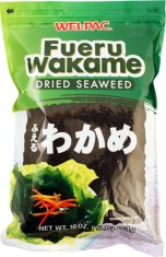 Rehydrate the wakame