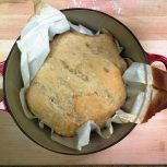 baked with parchment