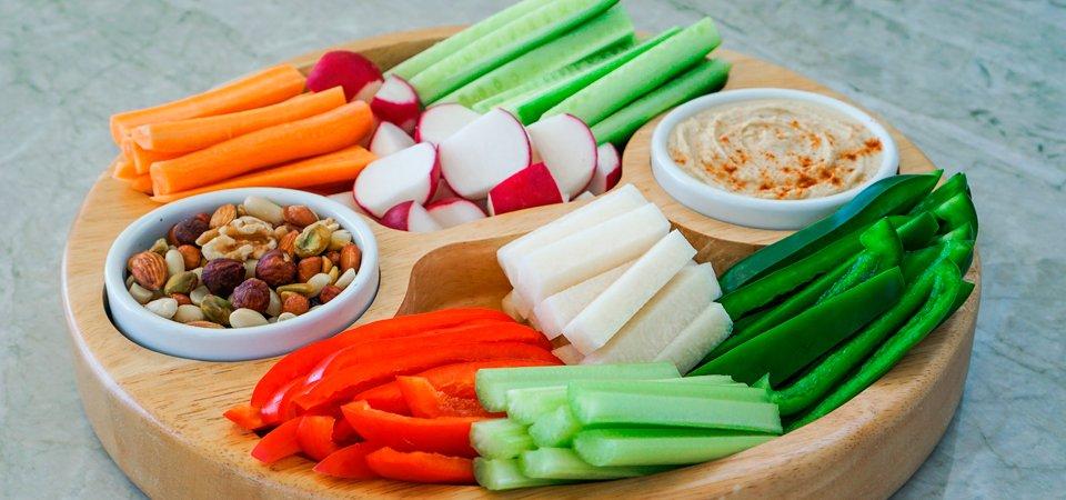 Bastones de zanahoria y jcama  Chef Oropeza