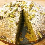Cardamom Pistachio Cake