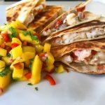 Lobster Quesadilla