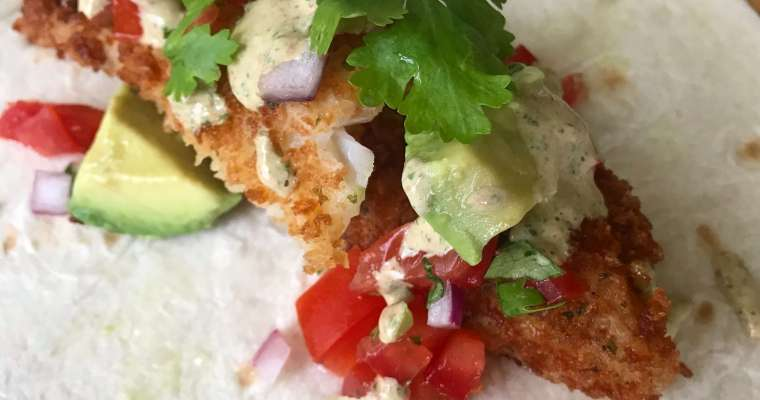 Best Fish Tacos Recipe with Best Fish Taco Sauce!