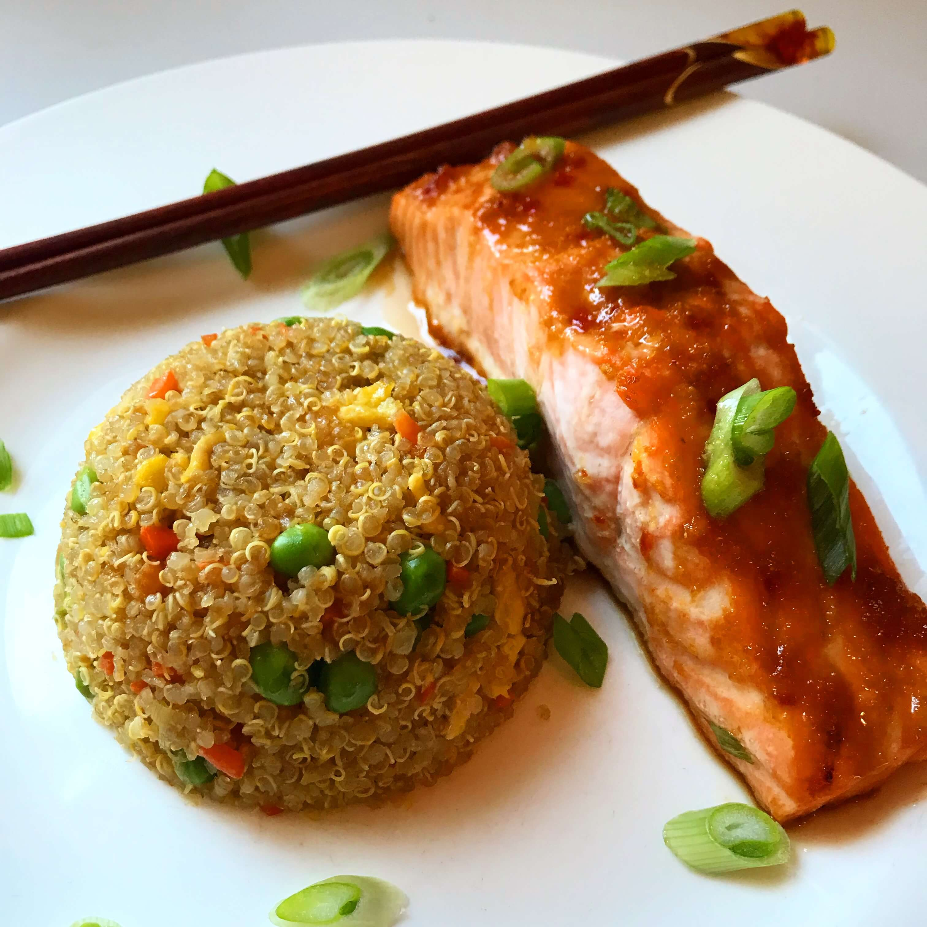 The Best Quinoa Fried Rice