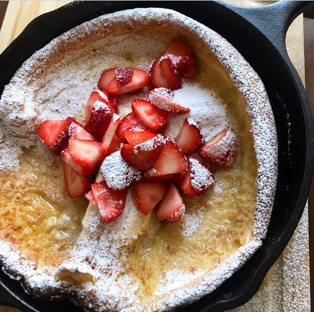 Strawberry Dutch Baby