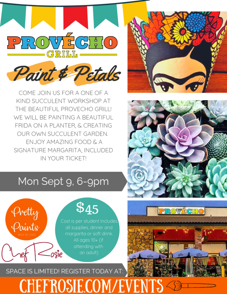 frida paint and sip event september 9