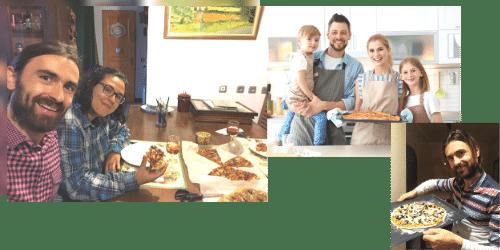 Pizza casera Italiana y Turca