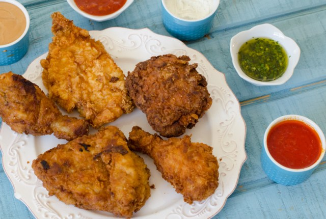Perfect Fried Chicken recipe from ChefSarahElizabeth.com