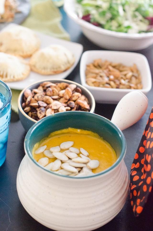 The Pumpkin Runner menu - Family Dinner Book Club - ChefSarahElizabeth.com