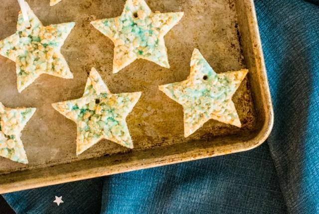 Star Treat Ornaments recipe from ChefSarahElizabeth.com