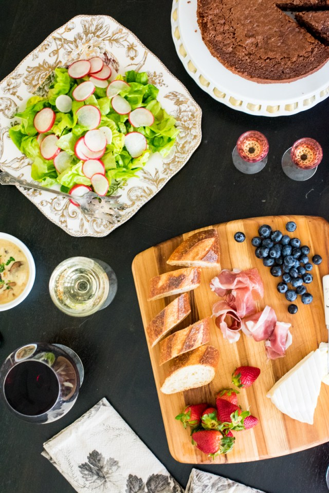 Provencal Lunch Menu from ChefSarahElizabeth.com