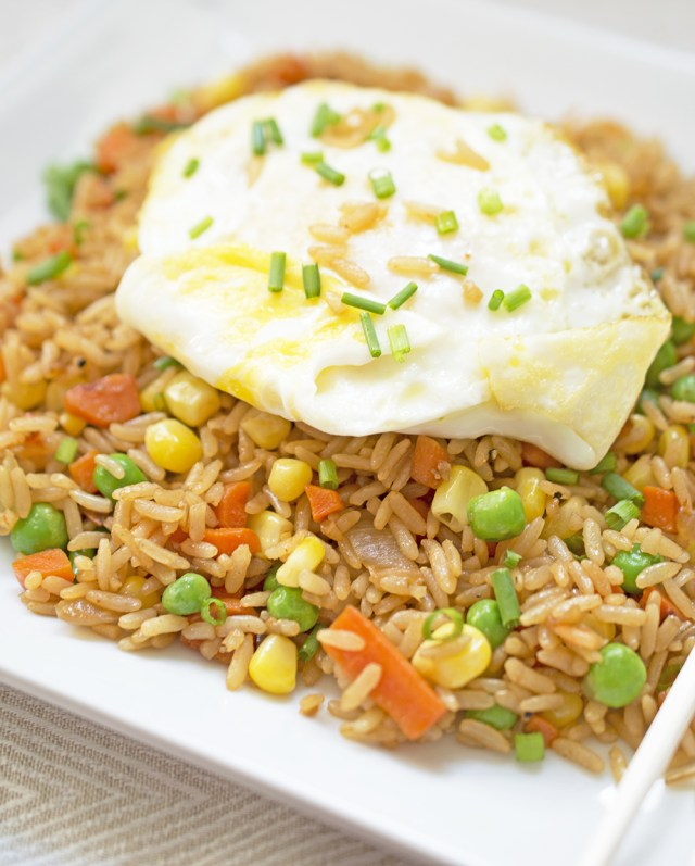 Vegetable Fried Rice | chefsavvy.com