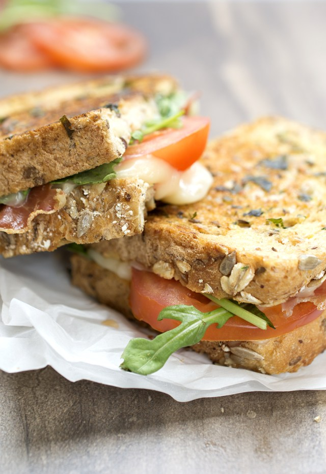How To Make an Italian BLT Grilled Cheese recipe